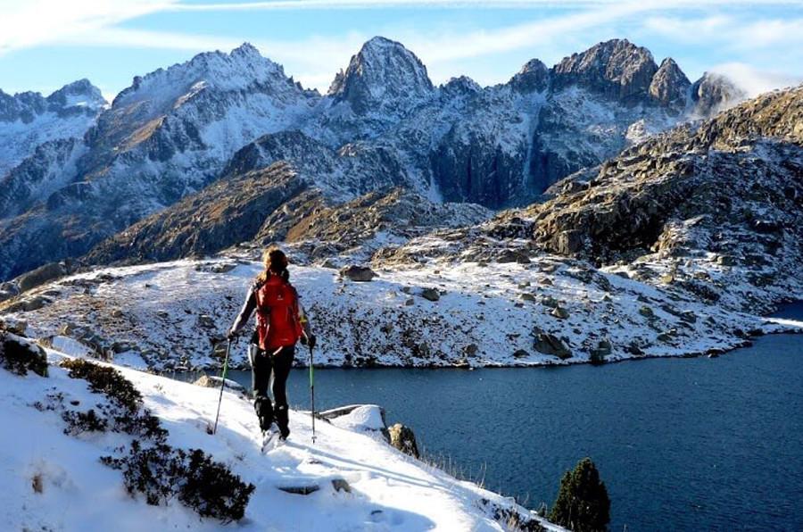 Parc Nacional d'Aigüestortes nevat