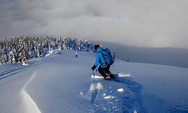 Esquí i neu a la muntanya